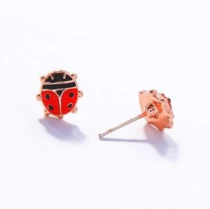 3/$23 Ladybug Tiny Stud Earrings